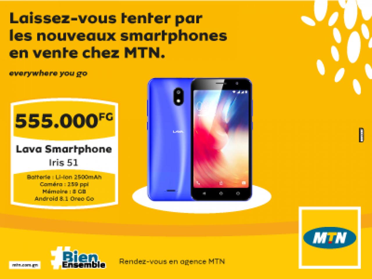 Lava Smartphone Iris 51, Autres Smartphones, Bissau